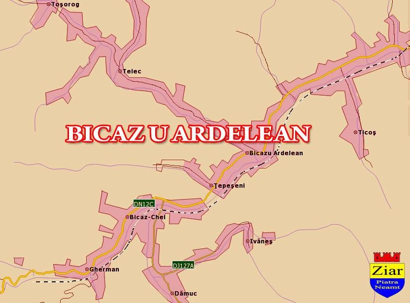 Comuna Bicazu Ardelean