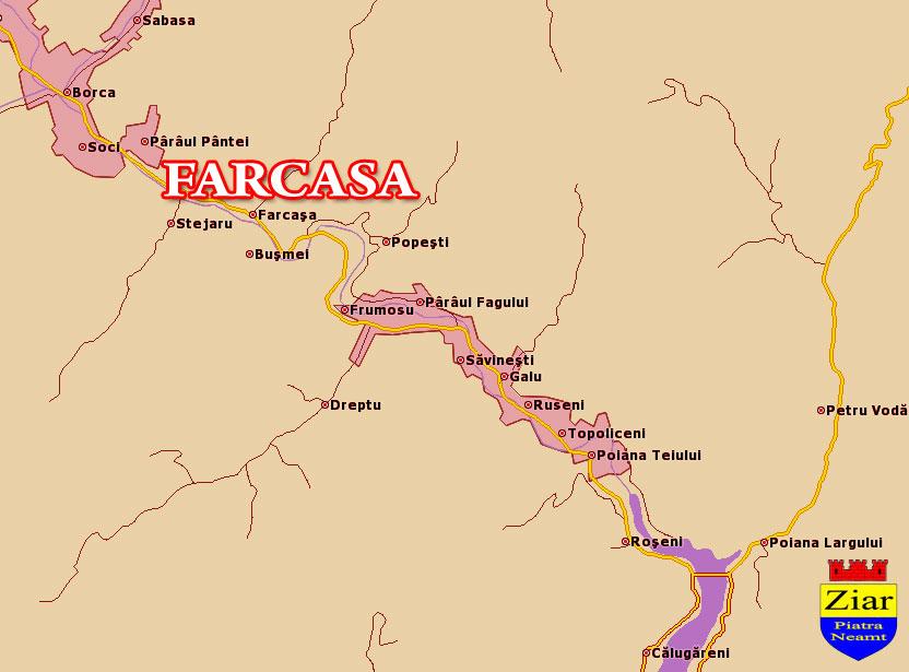 Comuna Farcasa