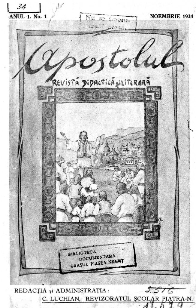 Revista Apostolul_nr. 1
