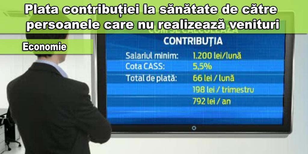 contributie sanatate
