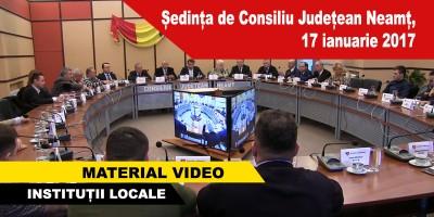 Ședința-de-Consiliu-Județean-Neamț,-17-ianuarie-2017