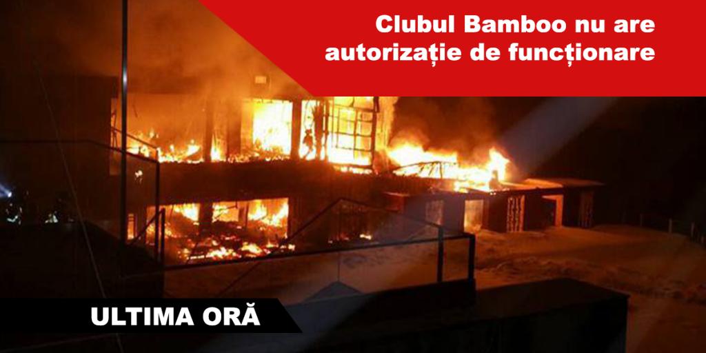 incendiu Bamboo