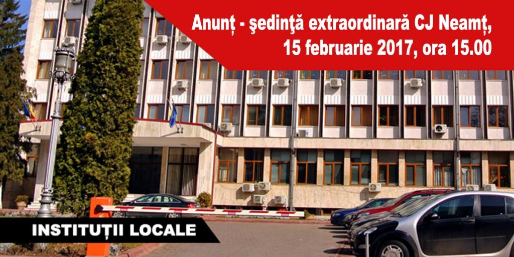 Anunț---şedinţă-extraordinară-CJ-Neamț,-15-februarie-2017,-ora-15.00